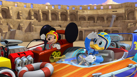 MICKEY MOUSE, DONALD DUCK